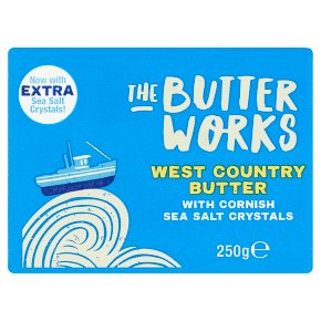 The Butter Works Cornish Butter with Sea Salt
