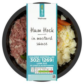 Waitrose LoveLife Calorie Controlled pulled ham hock in mustard sauce