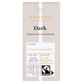Waitrose Seriously 65% cocoa dark chocolate