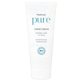 Waitrose Pure Natural Hand Cream