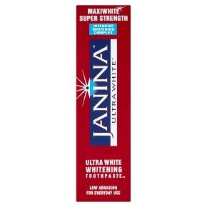 Janina Ultra White Whitening Toothpaste
