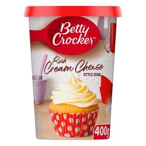Betty Crocker cream cheese style icing