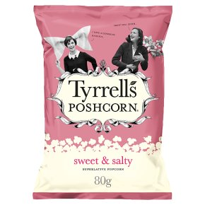 Tyrrells Poshcorn Sweet & Salty