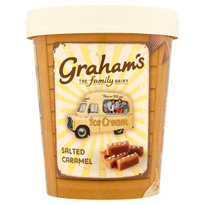 Graham's salted caramel ice cream