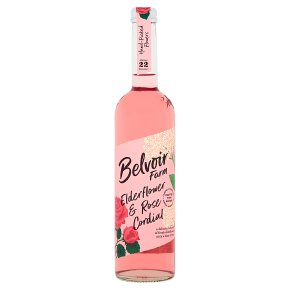 Belvoir Elderflower & Rose Cordial