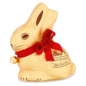 Lindt gold milk chocolate bunny