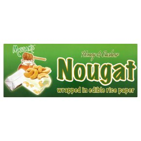 Massam's honey & cashew nougat