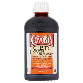 Covonia mentholated chesty cough mixture