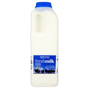 Mortons Dairies Ltd fresh milk whole