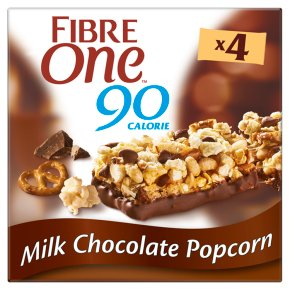 Fibre One Milk Chocolate Popcorn Bars