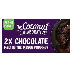 Coconut Collaborative Chocolate Puddings