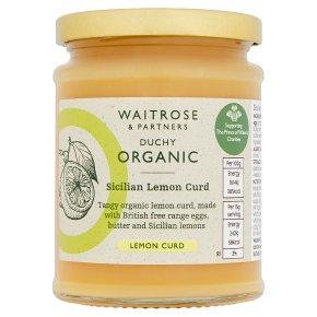 Duchy Organic Sicilian Lemon Curd