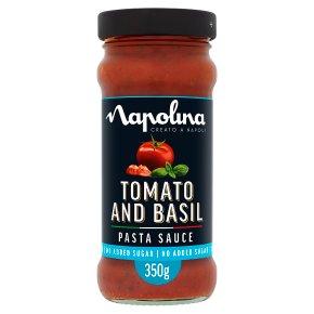 Napolina no added sugar tomato & basil pasta sauce