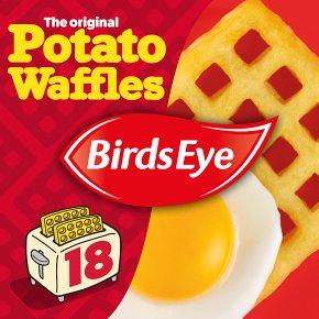 Birds Eye 18 Potato Waffles