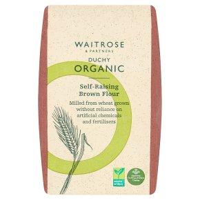 Waitrose Duchy Self Raising Brown Flour