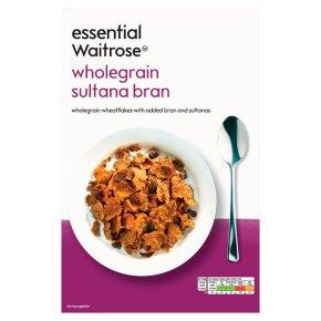 essential Waitrose sultana bran
