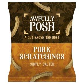 Awfully Posh Pork Scratchings