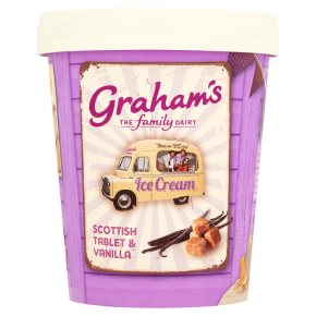Graham's Scottish Tablet & Vanilla Ice Cream