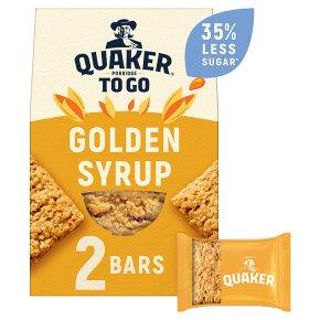 Quaker Porridge To Go Breakfast Squares Golden Syrup
