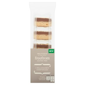 Waitrose Free From 5 Shortbreads