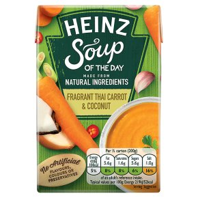 Heinz Fragrant Thai Carrot & Coconut Soup