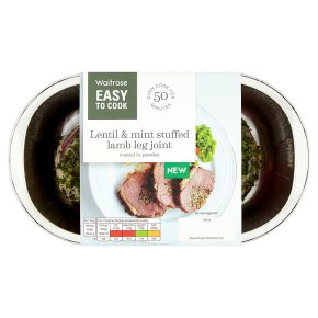 Easy To Cook Lentil & Mint Lamb Leg Joint