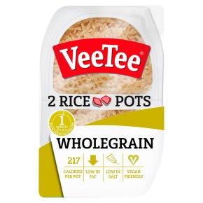 VeeTee Wholegrain Rice Pots