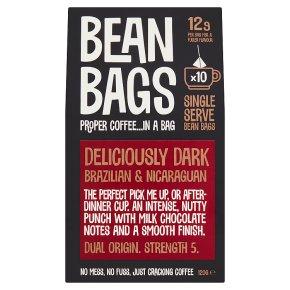 Bean Bags 10 Deliciously Dark Coffee Bags