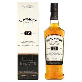 Bowmore Islay malt whisky 12 years old