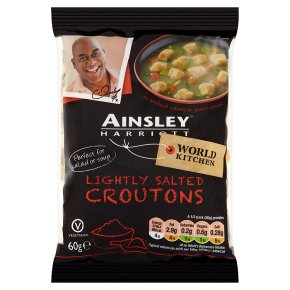 Ainsley Harriott Soup Croutons lightly salted
