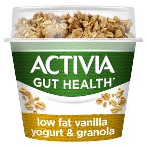 Activia Low Fat Vanilla Yogurt & Granola
