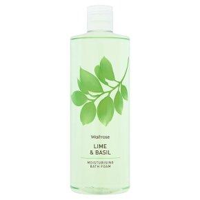 Waitrose Bath Foam Lime & Basil