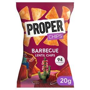 Properchips Lentil Chips Barbecue