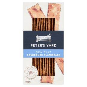 Peter's Yard Sea Salt Flatbreads