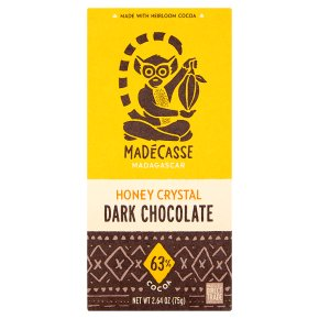 Madécasse Honey Crystal Dark Chocolate