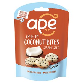 Ape Coconut Bites with Sesame Seed