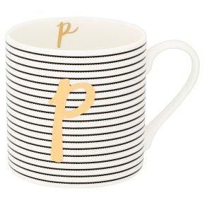 Waitrose 'P' Bone China Mug