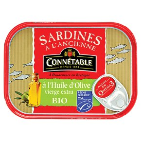 Connétable MSC Sardines Extra Virgin Olive Oil