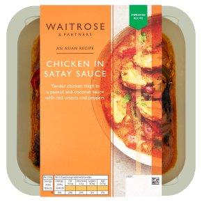 Waitrose Asian Chicken in Satay Sauce