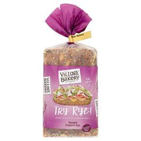 The Village Bakery organic seeded rye bread