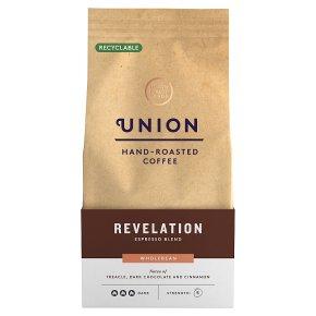 Union Hand-Roasted Coffee Revelation Blend Wholebean