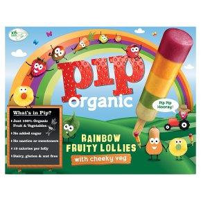 Pip Organic Rainbow Fruity Lollies