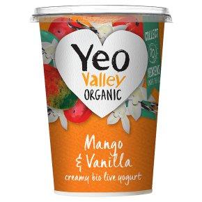 Yeo Valley Mango & Vanilla