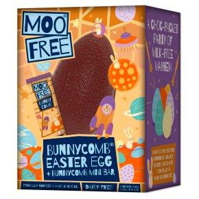 Moo Free Easter Bunnycomb Egg
