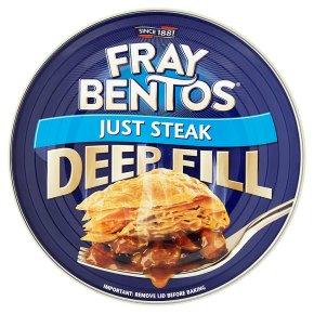Fray Bentos 'tender' just steak pie