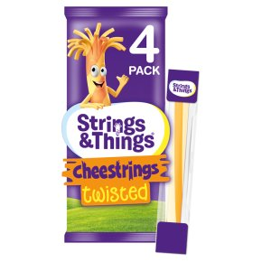 Cheestrings Twisted 4 Pack