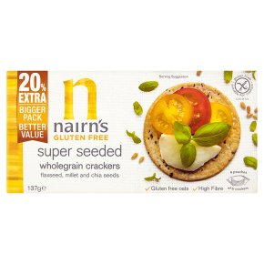 Nairn's Super Seeded Wholegrain Crackers