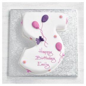5th Birthday Butterfly Cake