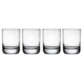Waitrose Dining Chefs' Entertaining tumbler glasses, pack of 4