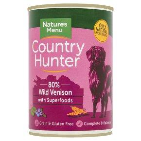 Country Hunter Venison, Fruit & Veg